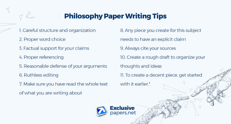 Philosophy Paper Writing Tips