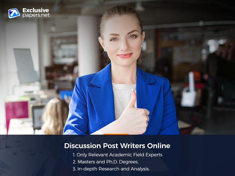 Discussion Post Writers Online