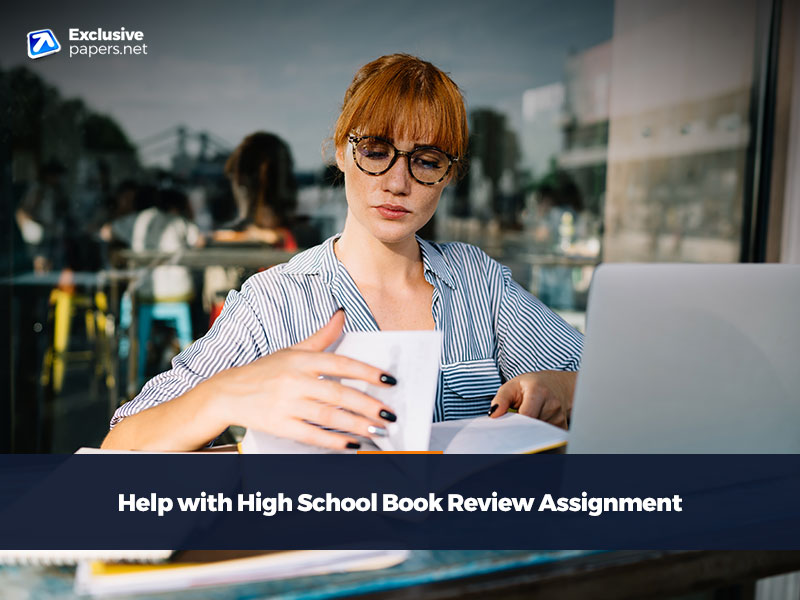 Help with High School Book Review Assignment