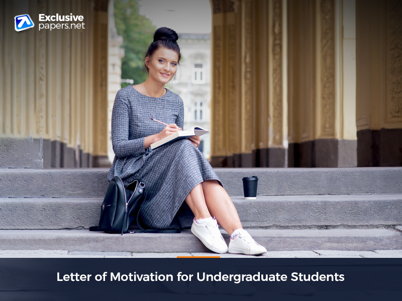 Letter of Motivation for Undergraduate Students