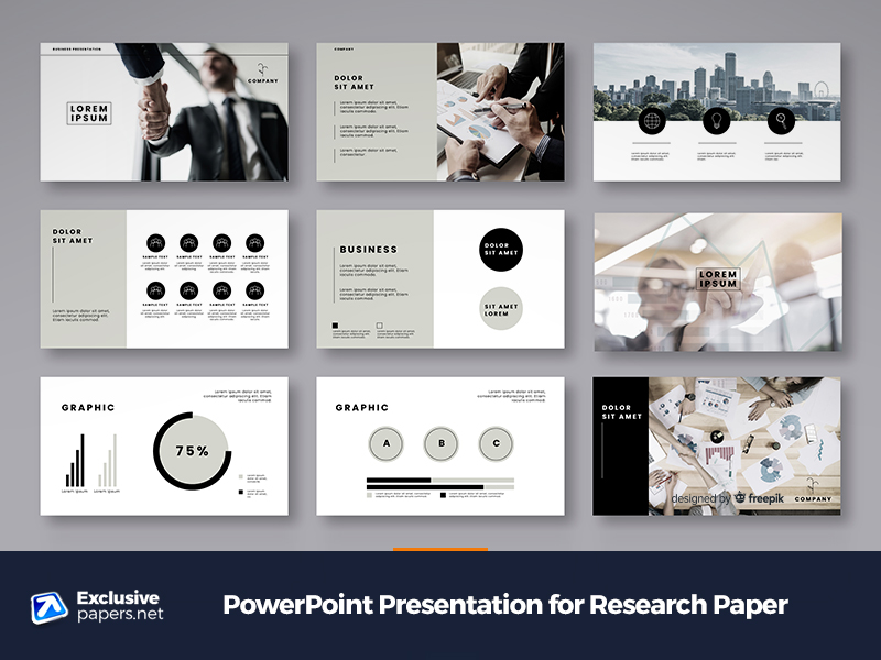 PowerPoint Presentation for Research Paper at Affordable Paper Writing Service
