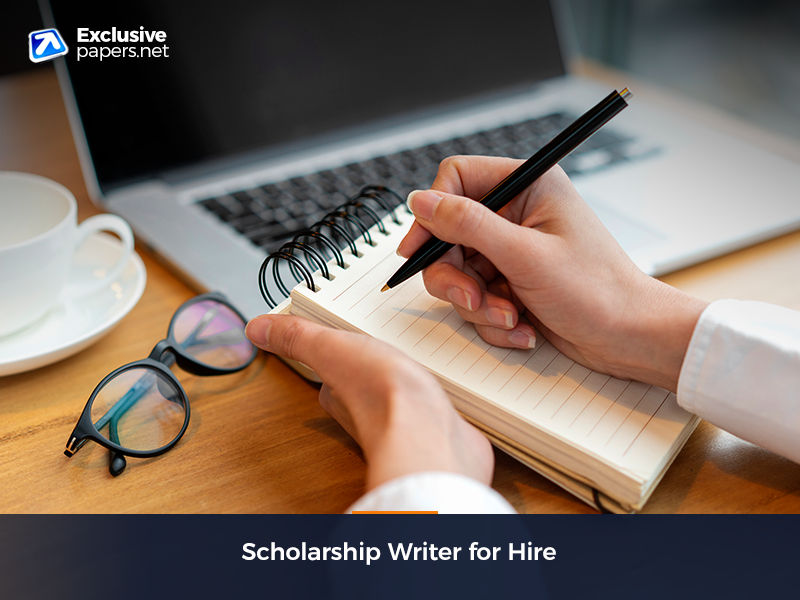 Scholarship Writer for Hire